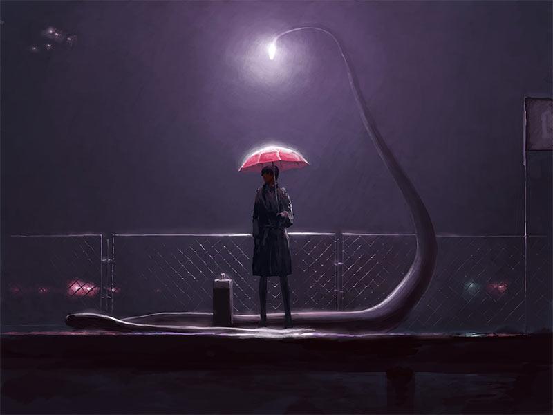 Цифровая живопись от Алекса Андреева