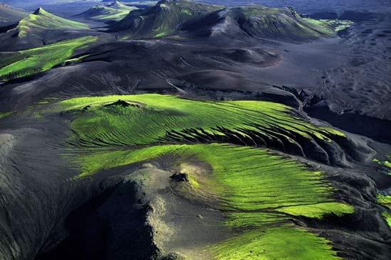 Горная местность вблизи Maelifellssandur, Исландия